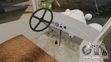 Gaz-AA ambulancia para GTA 4 vista hacia atrás