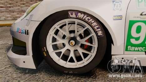 Porsche 911 (991) RSR para GTA 4 vista hacia atrás