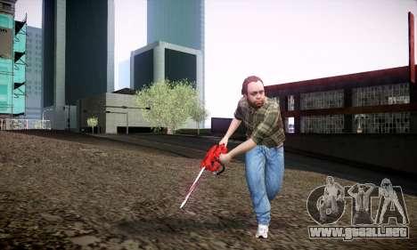 Lester de GTA V para GTA San Andreas sucesivamente de pantalla