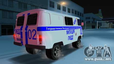 STSI UAZ-3741 para GTA Vice City left