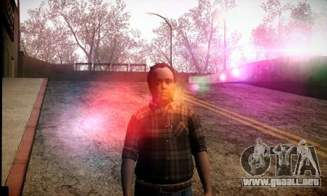 Lester de GTA V para GTA San Andreas segunda pantalla
