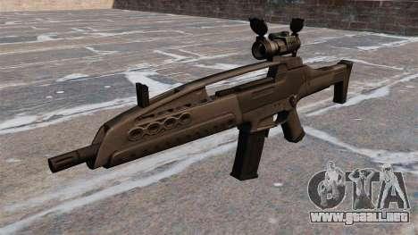 Rifle de asalto HK XM8 para GTA 4