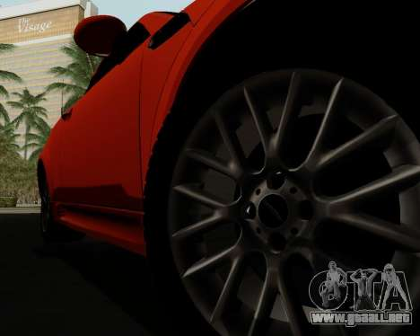 MINI Cooper S 2012 para GTA San Andreas interior