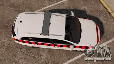 Audi Q7 Enforcer [ELS] para GTA 4 visión correcta