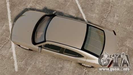 Dodge Charger SE 2006 para GTA 4 visión correcta