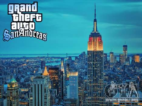 Loadscreens New-York para GTA San Andreas quinta pantalla