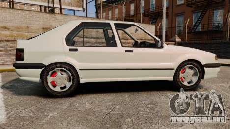 Renault 19 Europa para GTA 4 left