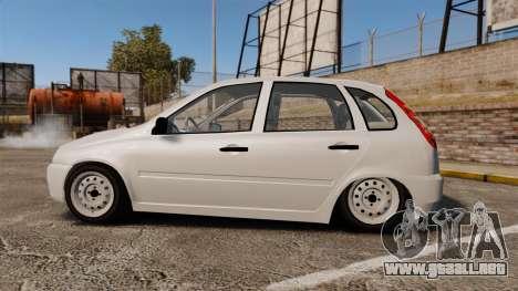 1119 VAZ Lada Kalina para GTA 4 left