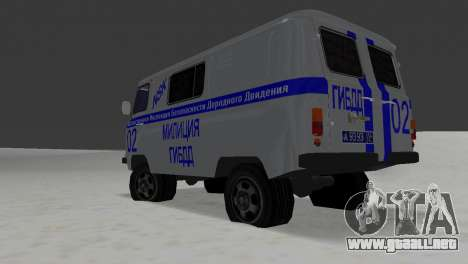 STSI UAZ-3741 para GTA Vice City visión correcta