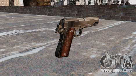 Pistola Colt M1911 para GTA 4 segundos de pantalla