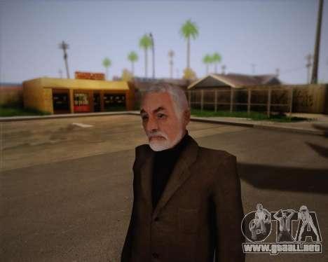 El Dr. Breen para GTA San Andreas tercera pantalla