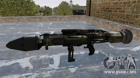 Lanzagranadas antitanque Crysis 2 para GTA 4 tercera pantalla
