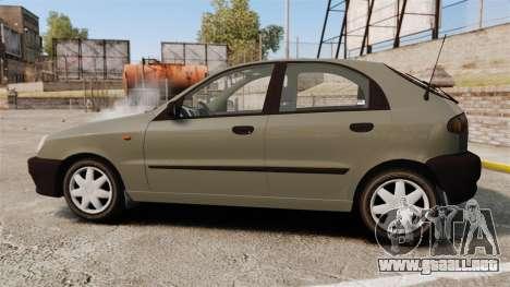 Daewoo Lanos S PL 2001 para GTA 4 left