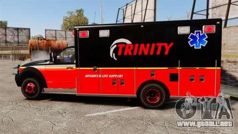 Landstalker L-350 Trinity EMS Ambulance [ELS] para GTA 4 left