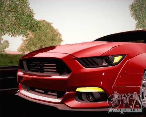 Ford Mustang Rocket Bunny 2015 para las ruedas de GTA San Andreas