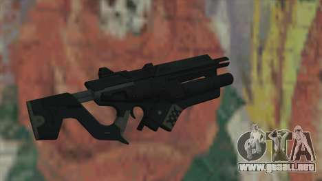 Rifle de Timeshift para GTA San Andreas segunda pantalla
