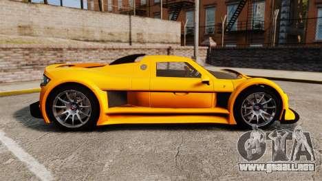 Gumpert Apollo S 2011 para GTA 4 left