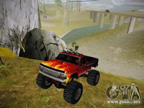 Nuevas texturas para la Monster (A) para GTA San Andreas left