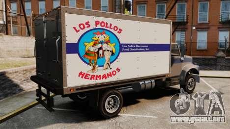 Yankee Los Pollos Hermanos para GTA 4 left