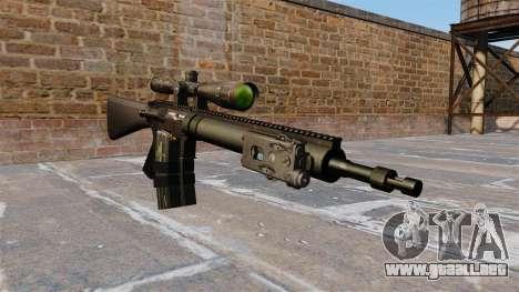 Rifle de francotirador Mk 12 para GTA 4