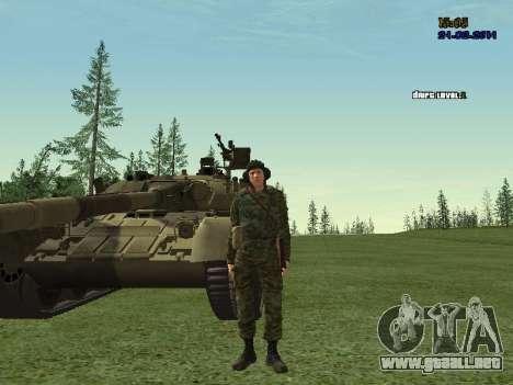 Tankman para GTA San Andreas tercera pantalla