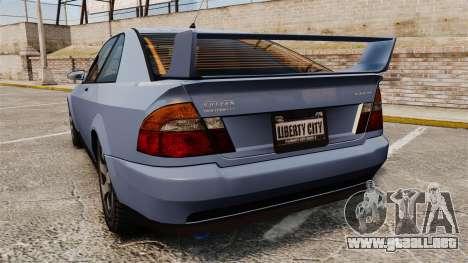 Sultan Coupe para GTA 4 Vista posterior izquierda