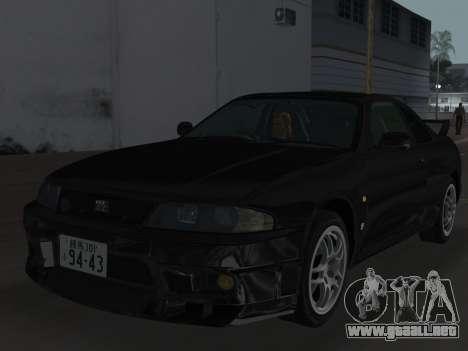 Nissan SKyline GT-R BNR33 para las ruedas de GTA Vice City
