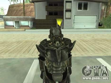 New skin from Fallout 3 para GTA San Andreas sucesivamente de pantalla