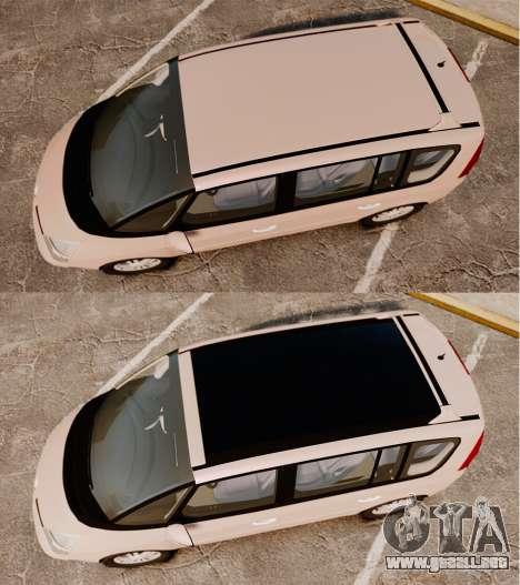Renault Espace IV Initiale v1.1 para GTA 4 visión correcta
