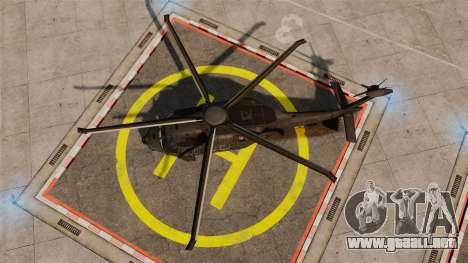 Sikorsky MH-X Silent Hawk [EPM] para GTA 4 visión correcta