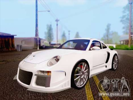 Porsche Carrera S para GTA San Andreas