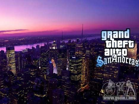 Loadscreens New-York para GTA San Andreas undécima de pantalla