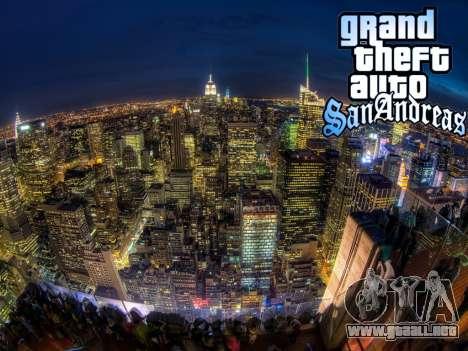 Loadscreens New-York para GTA San Andreas octavo de pantalla