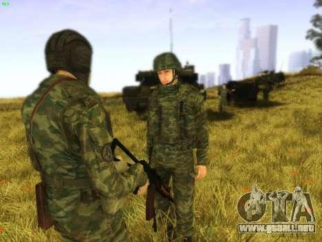Tankman para GTA San Andreas segunda pantalla