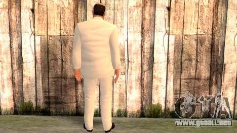 Joseph Clarence para GTA San Andreas segunda pantalla
