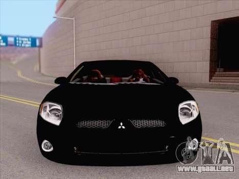 Mitsubishi Eclipse v4 para GTA San Andreas left