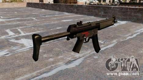 Ametralladora HK MR5A3 para GTA 4 segundos de pantalla