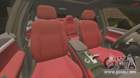 BMW X6 Lancashire Police [ELS] para GTA 4 vista superior