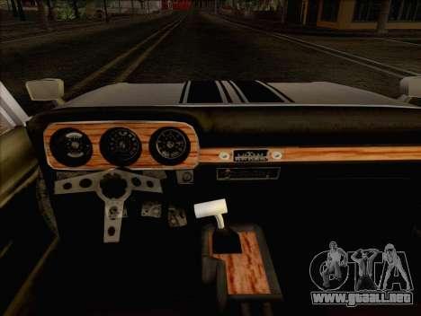 Ford Falcon para GTA San Andreas vista posterior izquierda