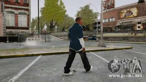 Clinton Franklin para GTA 4 tercera pantalla