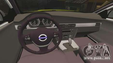 Volvo V70 Ambulance [ELS] para GTA 4 vista interior