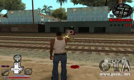 OFWGKTA P-HUD para GTA San Andreas segunda pantalla