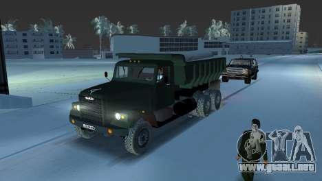 Camión KrAZ 255 para GTA Vice City