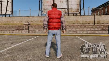 Ropa-back para el futuro... para GTA 4 segundos de pantalla