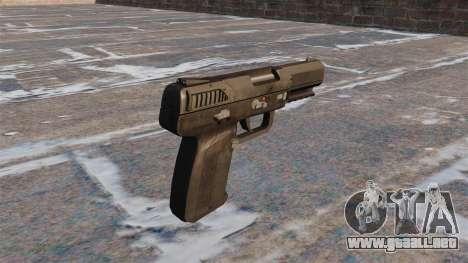 Carga automática pistola FN Five-seveN MW3 para GTA 4 segundos de pantalla