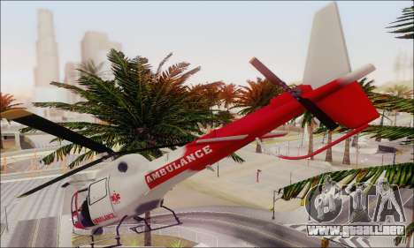 GTA V Ambulacia Maverick para visión interna GTA San Andreas