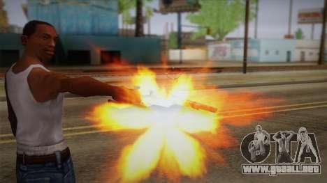 Colt Peacemaker (oxidado) para GTA San Andreas tercera pantalla