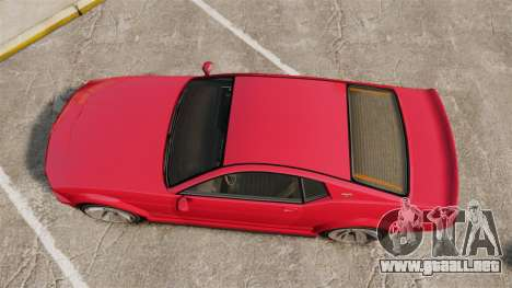 GTA V Vapid Dominator 450cui Supercharged para GTA 4 visión correcta