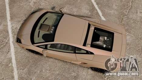 Lamborghini Gallardo 2013 v2.0 para GTA 4 visión correcta