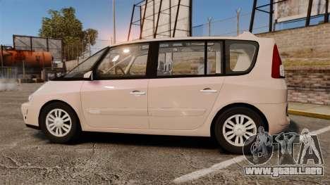Renault Espace IV Initiale v1.1 para GTA 4 left